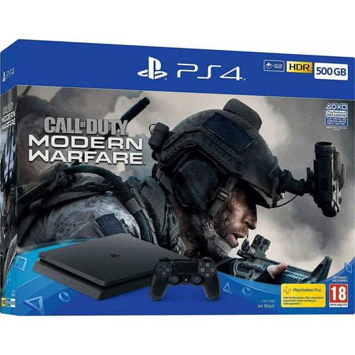 SONY PS4 500GB CONSOLE & CALL OF DUTY MODERN WARFARE BUNDLE