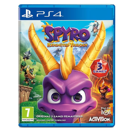 SPYRO REIGNITED TRILOGY - PS4 GAME
