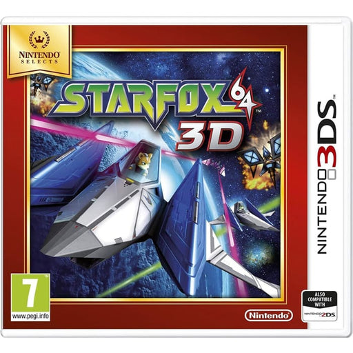 STARFOX 64 3D - NINTENDO SELECTS - NINTENDO 3DS GAME