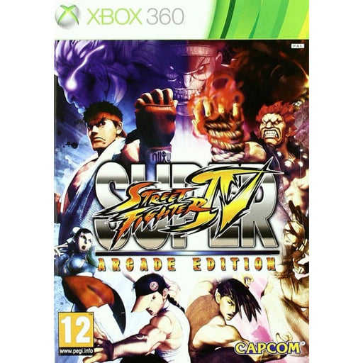 SUPER STREET FIGHTER IV: ARCADE EDITION - XBOX 360 GAME