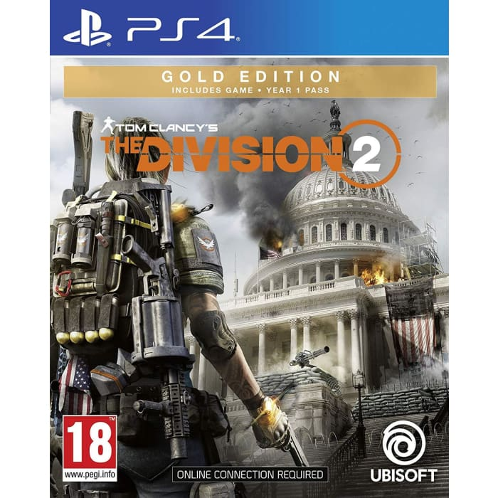 THE DIVISION 2: GOLD EDITION - PS4 GAME