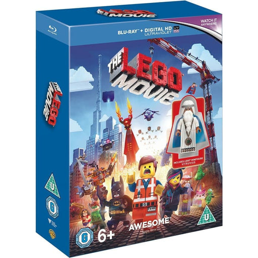 THE LEGO MOVIE - MINIFIGURE EDITION - BLU-RAY
