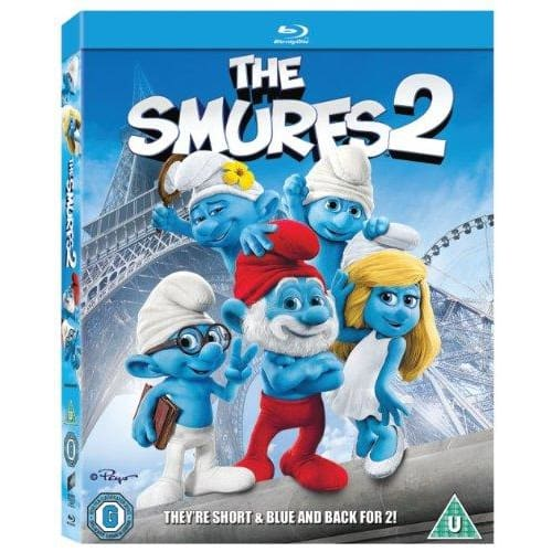 THE SMURFS 2 - BLU-RAY & HD ULTRAVIOLET