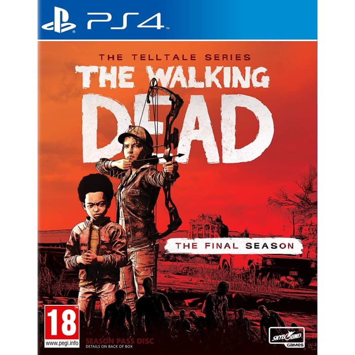 THE WALKING DEAD: THE FINAL SEASON - THE TELLTALE SERIES - PS4 GAME