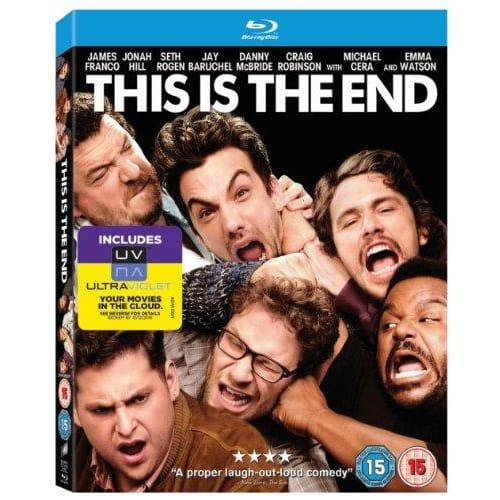 THIS IS THE END - BLU-RAY & HD ULTRAVIOLET