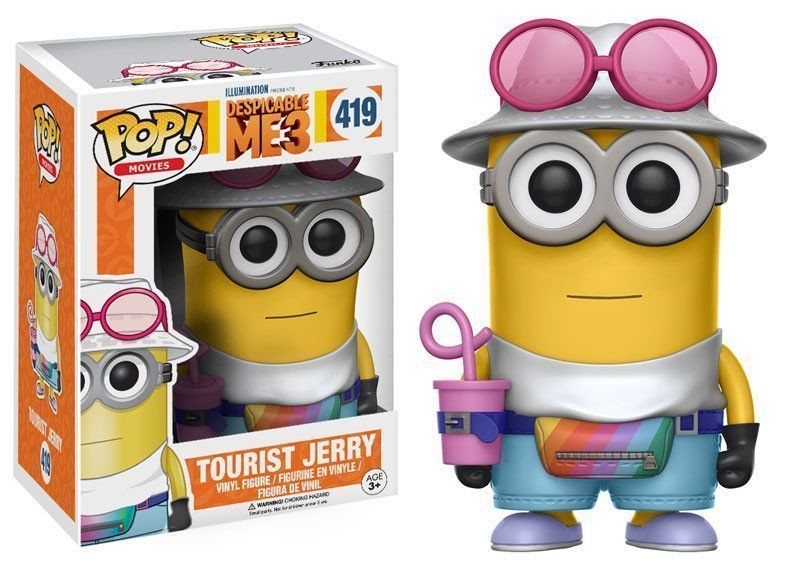 FUNKO POP! MOVIES: DESPICABLE ME 3 TOURIST JERRY #419