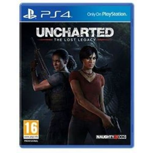 UNCHARTED: THE LOST LEGACY - PS4 GAME