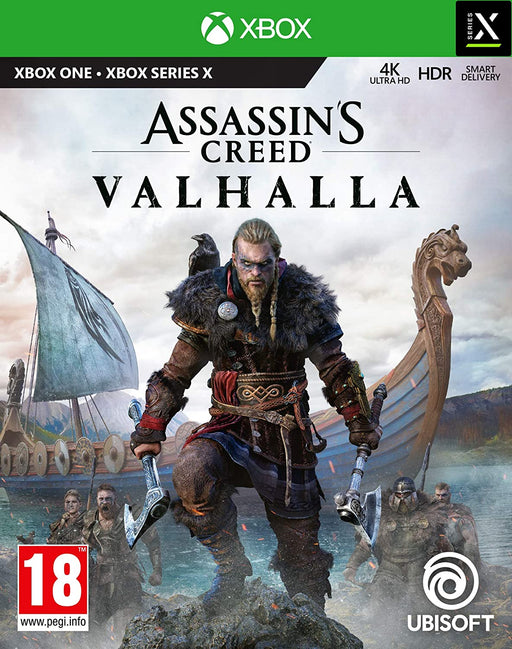 ASSASSINS CREED: VALHALLA - XBOX ONE & SERIES X GAME