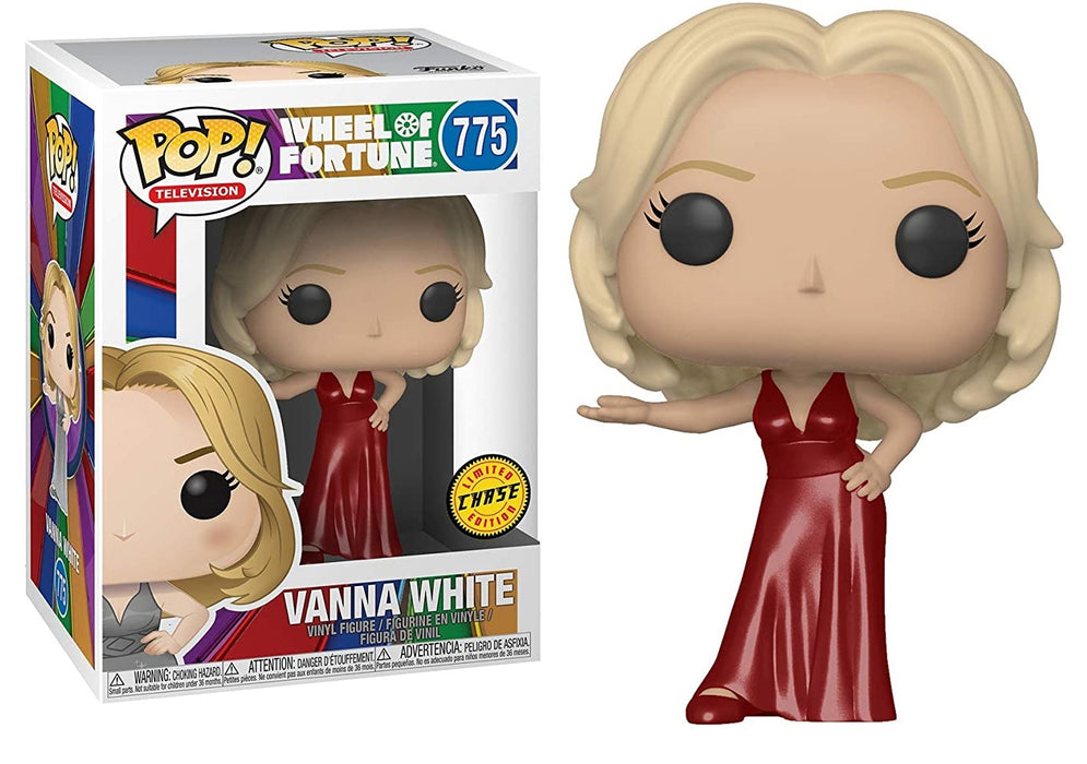 FUNKO POP! TELEVISION: WHEEL OF FORTUNE VANNA WHITE LIMITED CHASE EDITION #775