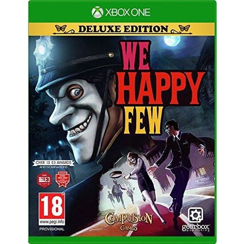 WE HAPPY FEW DELUXE EDITION - XBOX ONE GAME