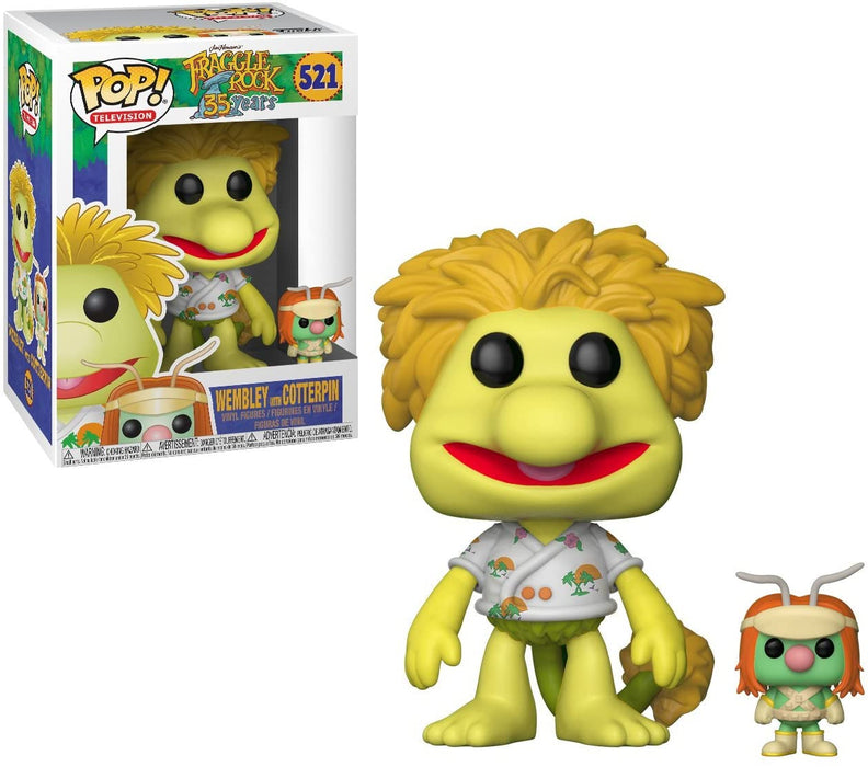 FUNKO POP! TELEVISION: FRAGGLE ROCK WEMBLEY WITH COTTERPIN #521