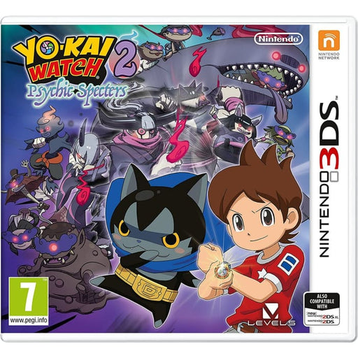 YO-KAI WATCH 2 - PSYCHIC SPECTERS - NINTENDO 3DS GAME
