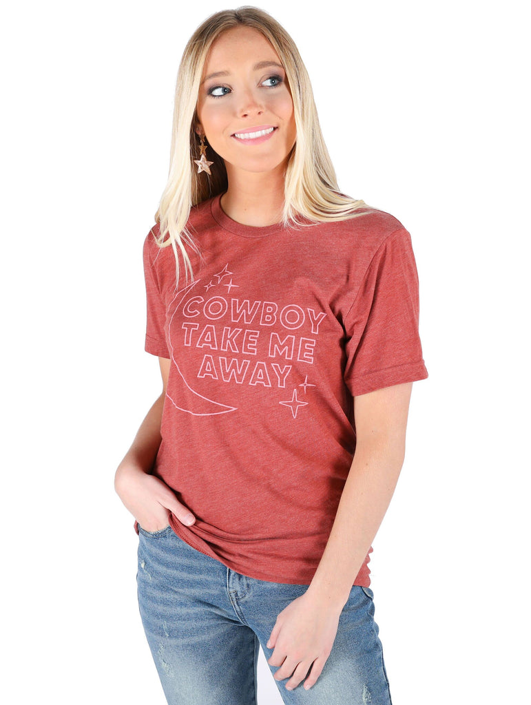 COWBOY TAKE ME AWAY STAR TEE