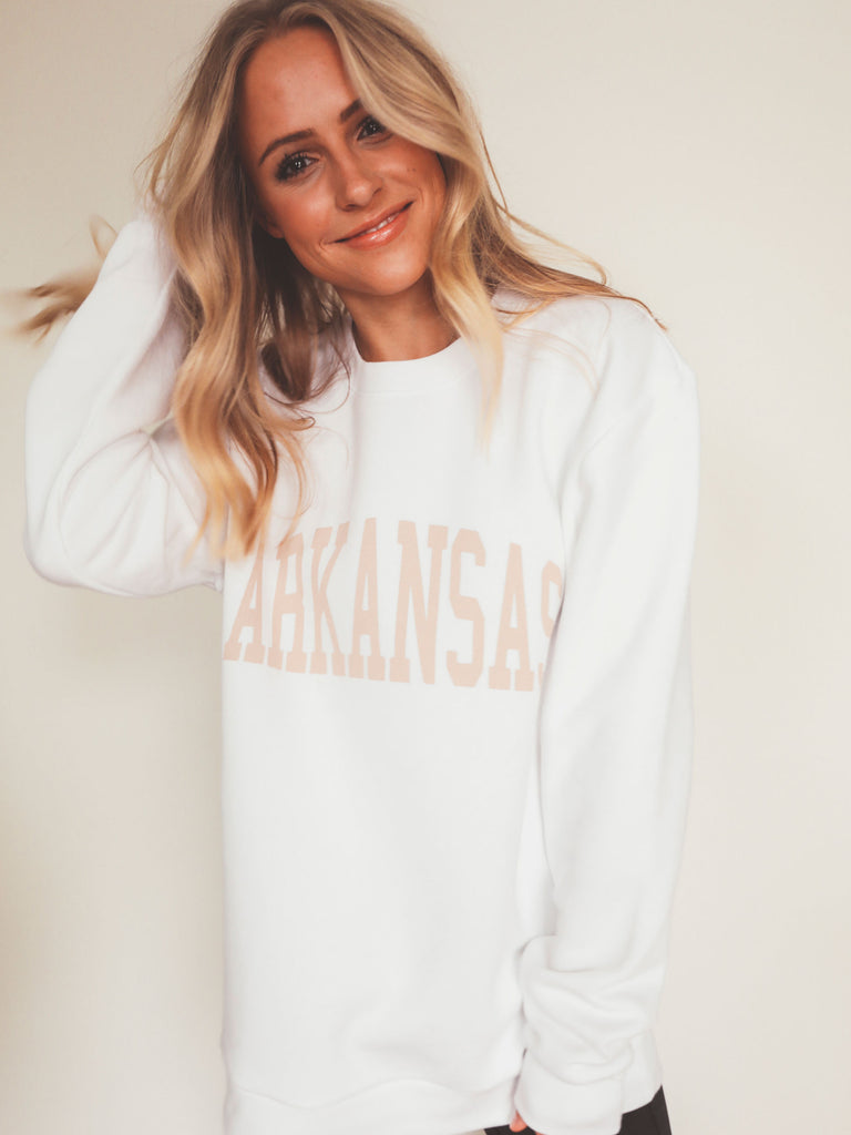ARKANSAS NEUTRAL FEELS SWEATSHIRT
