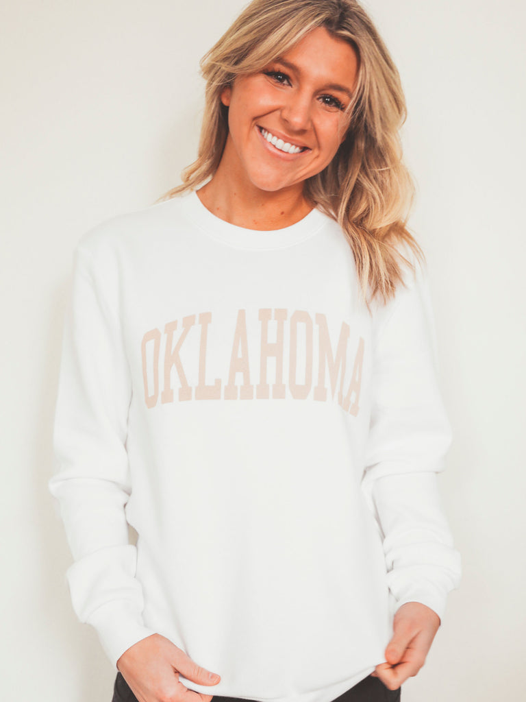 OKLAHOMA NEUTRAL FEELS SWEATSHIRT