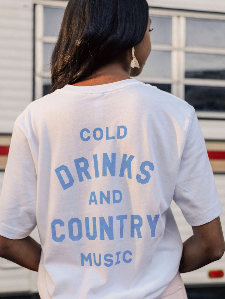 COLD DRINKS + COUNTRY MUSIC