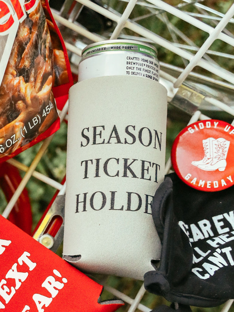 SEASON TICKET HOLDER SLIM DRINK SLEEVE