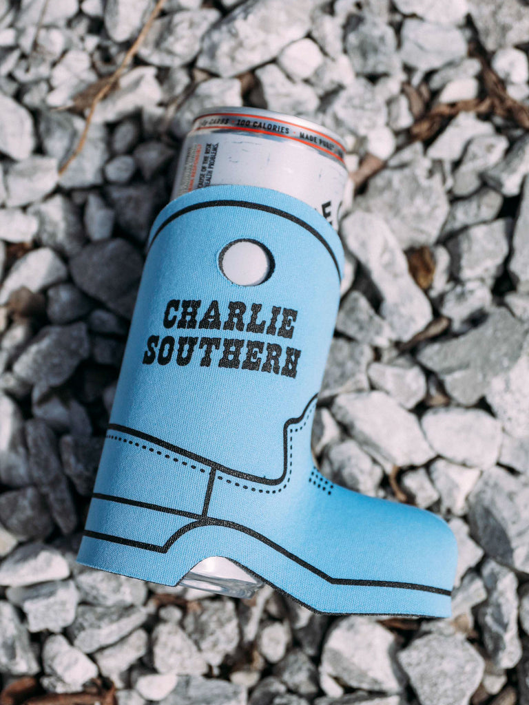 CHARLIE SOUTHERN BOOT DRINK SLEEVE