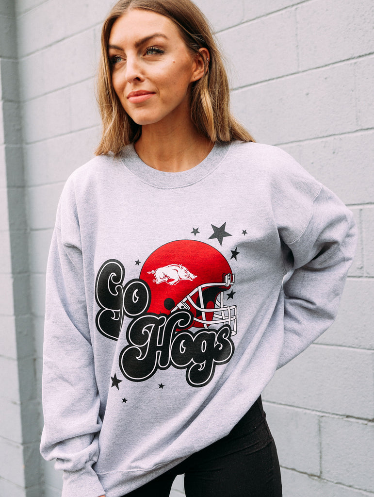 GO HOGS STAR SWEATSHIRT