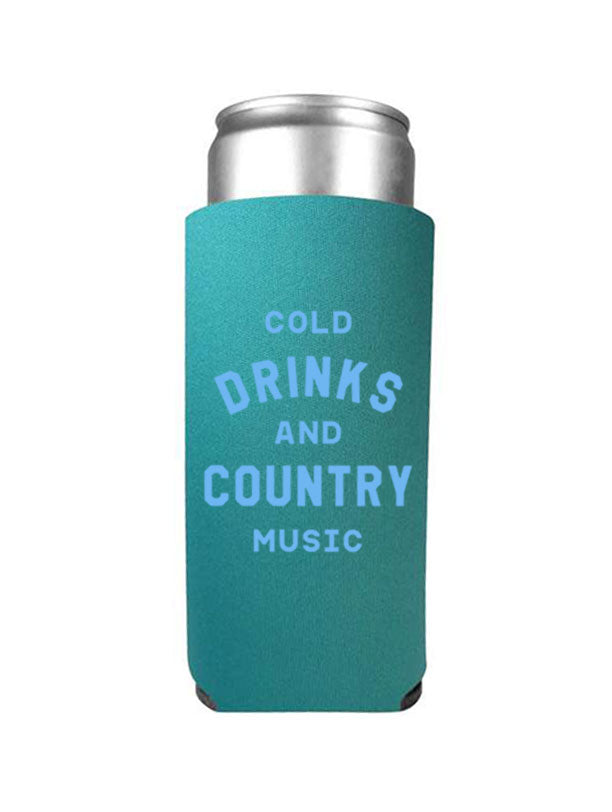 COLD DRINK + COUNTRY MUSIC TALL DRINK SLEEVE