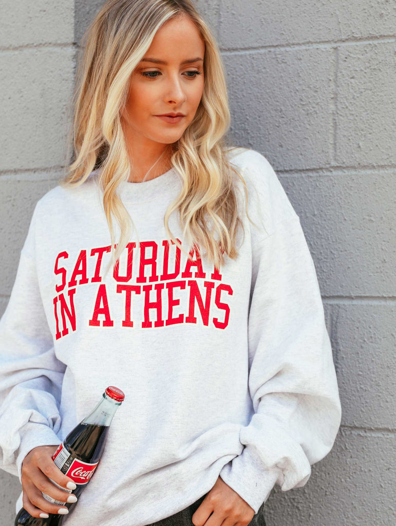 SATURDAY IN ATHENS SWEATSHIRT