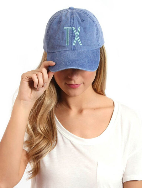 Retro Initial Hat Mint