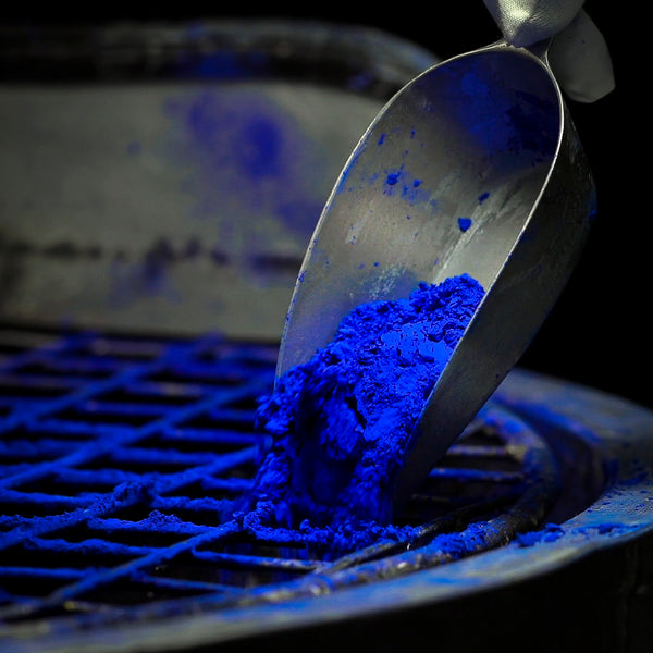 Ultramarine blue, the magnificent pigment…