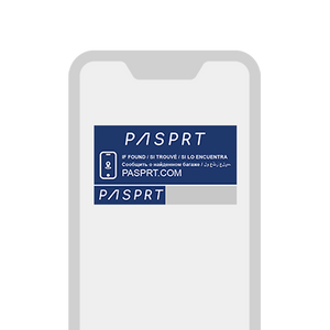 PASPRT Asset Label