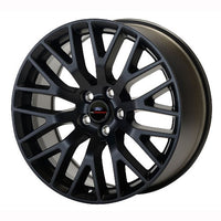 "2015-2019 MUSTANG GT PERFORMANCE PACK FRONT WHEEL 19"" X 9"" - MATTE BLACK - Ford Performance"