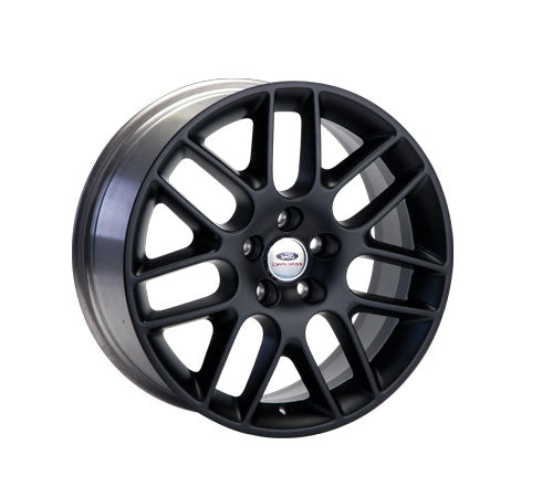 "2005-2014 MUSTANG 18"" X 8""  MESH SPOKE WHEEL - MATTE BLACK - Ford Performance"