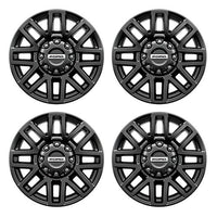"2005-2019 F-SUPER DUTY 20"" X 8"" PREMIUM BLACK PAINTED ALUMINUM WHEEL PACKAGE WITH TPMS KIT - Ford Performance"