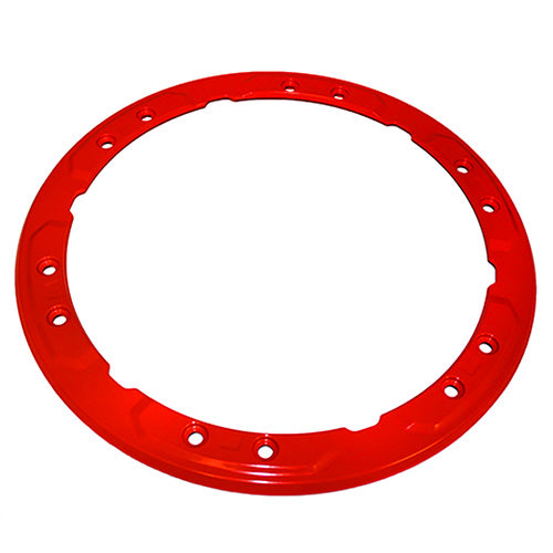 2017-2018 RAPTOR BEAD LOCK WHEEL TRIM RING - RED - Ford Performance