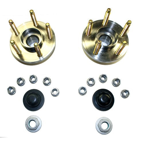 2015-2019 MUSTANG FRONT WHEEL HUB KIT WITH ARP STUDS - Ford Performance