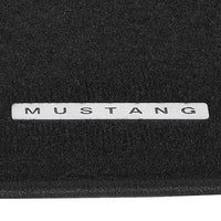 "2006-09 MUSTANG BLACK FLOOR MATS ""MUSTANG"" TAG - Ford Performance"