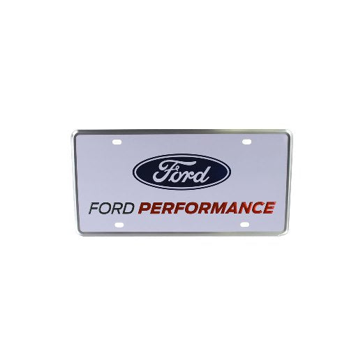FORD PERFORMANCE LICENSE PLATE - SINGLE - Ford Performance