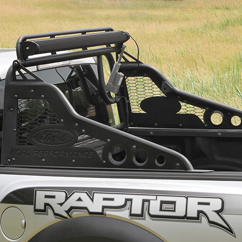 2017-2020 RAPTOR/F-150 RACE SERIES REAR CHASE RACK WITH LIGHT BAR ACTUATOR - Ford Performance