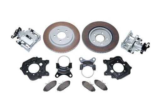 5-LUG REAR DISC BRAKE KIT LATE MODEL FORD 9-INCH TRUCK AXLE HOUSING - Ford Performance
