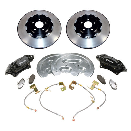 "2005-2014 MUSTANG GT 14"" SVT BRAKE UPGRADE KIT W/ 2-PIECE ROTORS - Ford Performance"