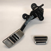 MUSTANG ALUMINUM PEDAL KIT-AUTOMATIC TRANSMISSION - Ford Performance