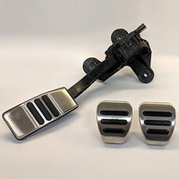 MUSTANG ALUMINUM PEDAL KIT-MANUAL TRANSMISSION - Ford Performance