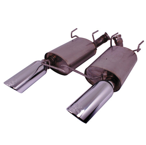 2011-2014 MUSTANG V6 TOURING MUFFLERS (50 STATE) - Ford Performance