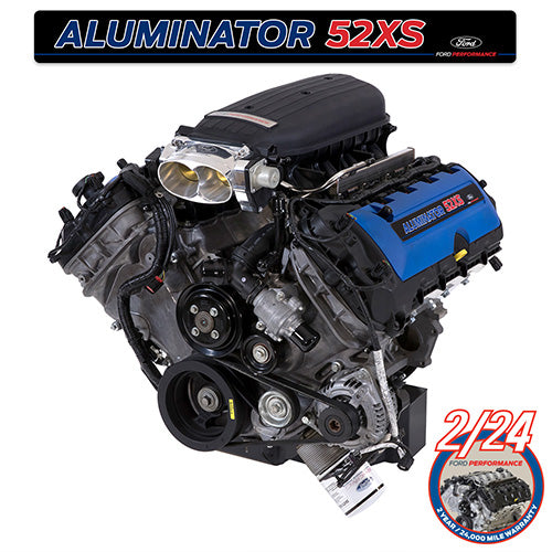 5.2L ALUMINATOR 5.2 XS CRATE ENGINE - Ford Performance
