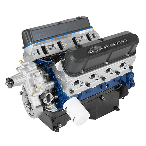 363 CUBIC INCH 507 HP BOSS CRATE ENGINE-Z2 HEADS-REAR SUMP PAN - Ford Performance