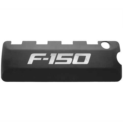 5.0L COYOTE BLACK COIL COVERS - 2011-2014 F-150 LOGO - Ford Performance