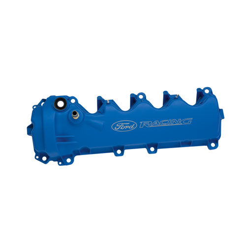 BLUE FORD RACING COATED 3-VALVE CAM COVERS - Ford Performance