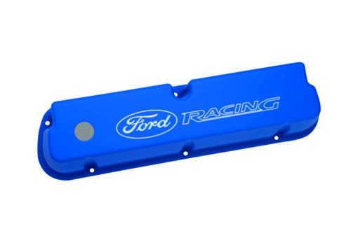BLUE SATIN VALVE COVERS - Ford Performance