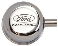 CHROME BREATHER CAP W/ FORD RACING LOGO - Ford Performance