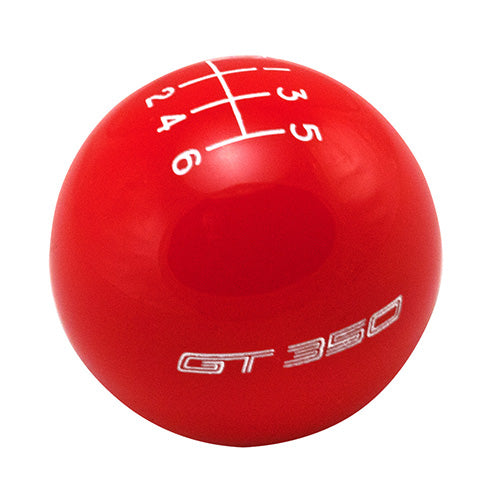 FORD PERFORMANCE GT350 SHIFT KNOB 6-SPEED - RED - Ford Performance