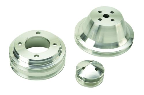 1970-1978 MUSTANG BILLET DUAL GROOVE PULLEY SET - Ford Performance