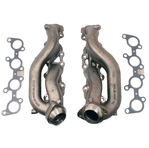 2011-2019 5.0L COYOTE STREET ROD CAST IRON EXHAUST MANIFOLDS - Ford Performance